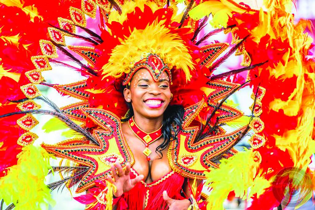 Saint Lucia Carnival Reveller